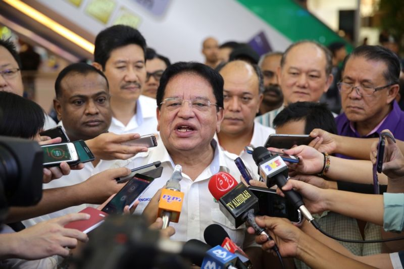 Datuk Seri Tengku Adnan Tengku Mansor says DBKL will impose a two-hour limit for the public to park around the central business district areas starting July 16. ― Picture by Choo Choy May