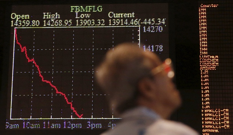 On a Friday-to-Friday basis, the index rose 39.19 points to end at 1,591.84. — Reuters pic