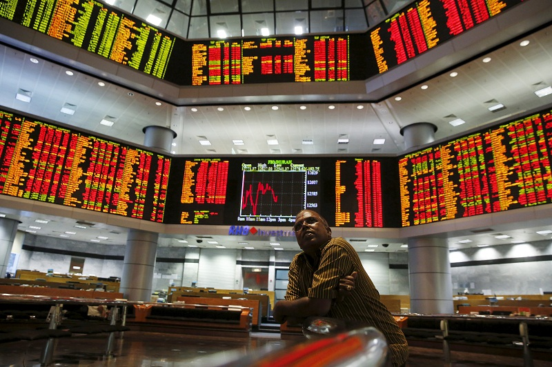 The Bursa's performance was driven by heavy selling in lower liners in consumer and industrial sectors. — Reuters pic