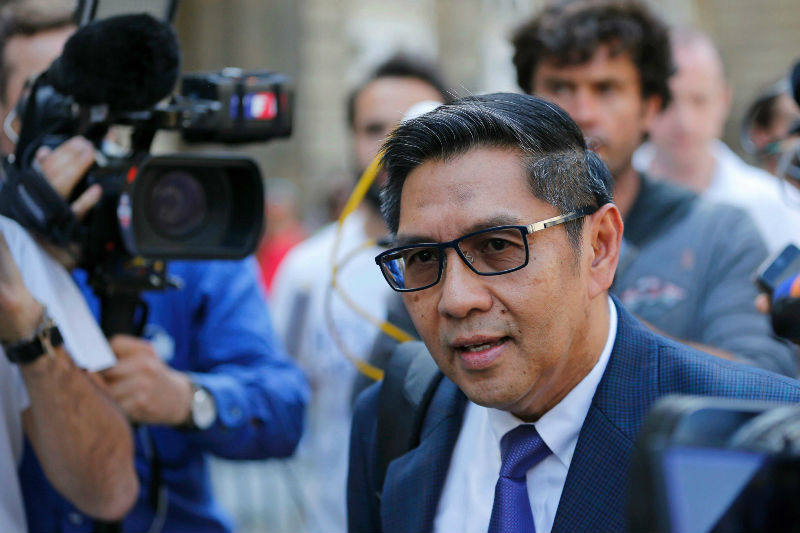DCA director-general Datuk Seri Azharuddin Abdul Rahman confirmed receiving 'several proposals' to search for the missing MH370. — Reuters pic