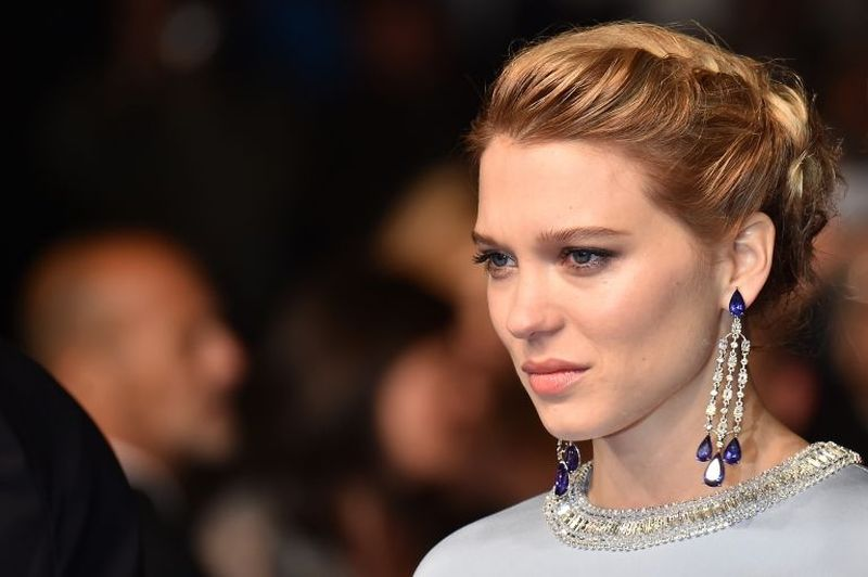 Léa Seydoux could soon play Channing Tatum's wife in the superhero flick 'Gambit.' ― AFP pic
