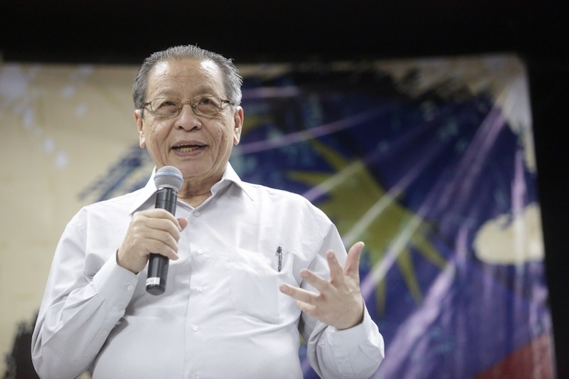 As a state rich with natural resources, DAP's Lim Kit Siang said the reason Sabah was still poor was down to poor governance, corruption and abuse of powers for the past 60 years. — Picture by Choo Choy May
