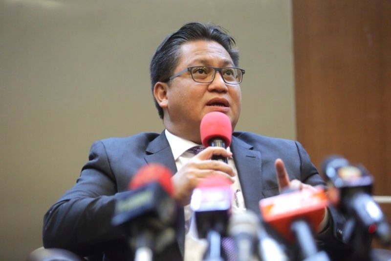 Datuk Nur Jazlan Mohamed said it was not tenable for the party's leaders to still be part of a government that the party did not fully support. ― Picture by Choo Choy May