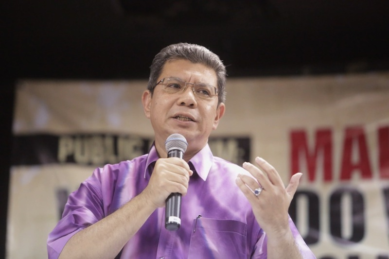Global Movement of Moderates' chief executive officer, Datuk Saifuddin Abdullah, said the Education Ministry  was being over-sensitive about the word 'Bersih'. — File pic