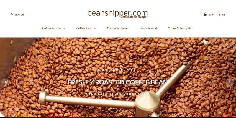 Coffee convenience is at your fingertips with Bean Shipper for coffee beans and equipment supplies. — Picture courtesy of Bean Shipper