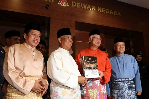 Najib said that loyalty was more important than 'smart people' in order to keep the party and his leadership united. — File pic