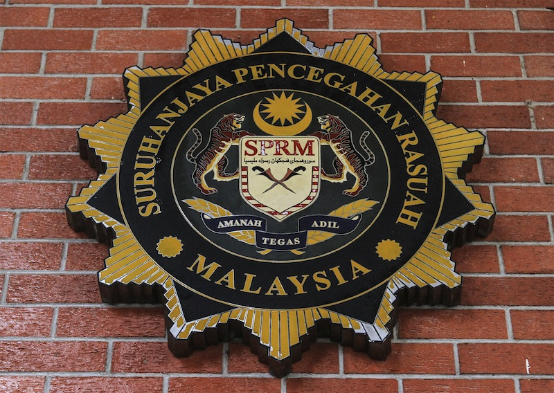 Three technicians and a school laboratory assistant have been remanded by the Malaysian Anti-Corruption Commission (MACC) for a week to facilitate investigations into the Telekom Malaysia (TM) cable theft. — Picture by Yusof Mat Isa