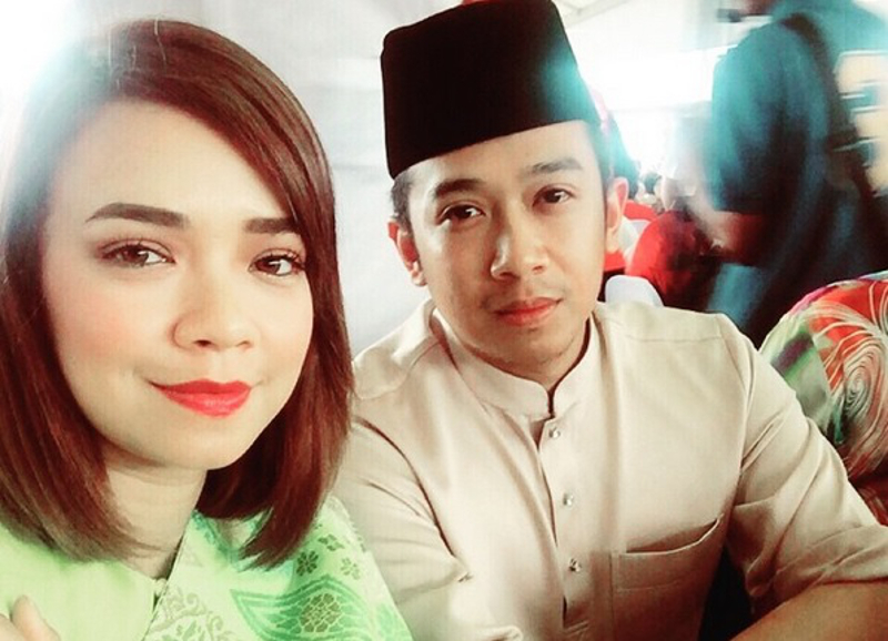 Nora Danish and husband Nedim Nazri recently welcomed their first child together. — Instagram pic