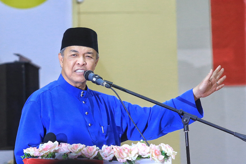 File photo of deputy prime minister Datuk Seri Ahmad Zahid Hamidi, August 16, 2015. — Picture by Saw Siow Feng