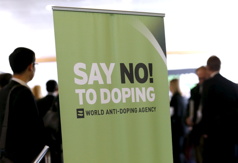 Participants talk before the start of the World Anti-Doping Agency (WADA) Symposium for Anti-Doping Organisations in Lausanne, in this March 24, 2015 file photo. — Reuters pic