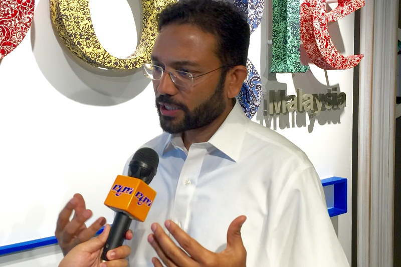 Google Malaysia managing director Sajith Sivanandan said that mobile use is the trend that is 'driving most change in Malaysia'. ― Picture by Zurairi AR