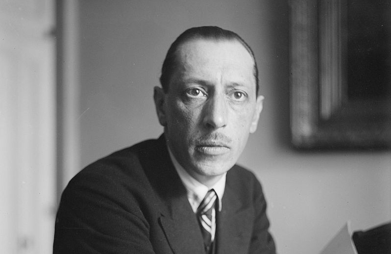 Russian composer Igor Stravinsky's score for 'The Funeral Song' has been miraculously found in the library of the Saint Petersburg Conservatory. — wiki pic
