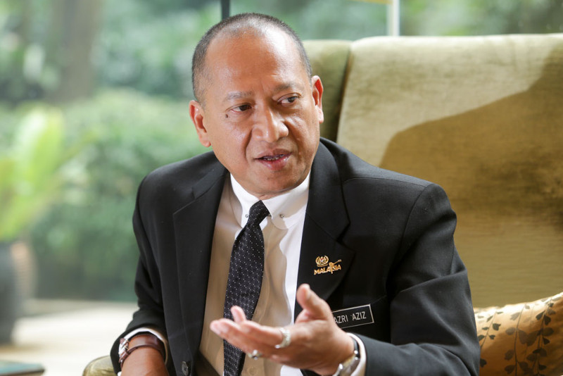 Datuk Seri Nazri Aziz says LGBT people in Malaysia will never be able to lead the life they want as it is not allowed in Islam. ― File pic