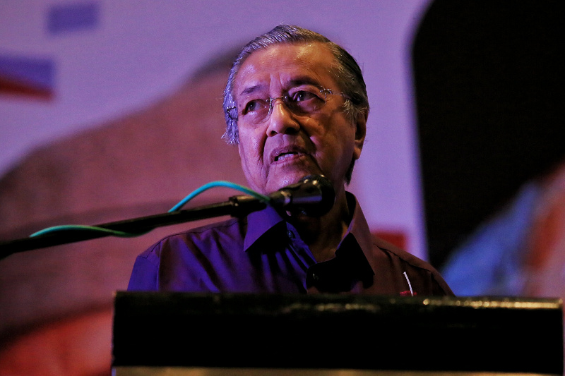 Malaysia's judiciary has remained under a cloud since the 1988 constitutional crisis that saw the dismissal of Salleh during the administration of Tun Dr Mahathir Mohamad. ― File pic