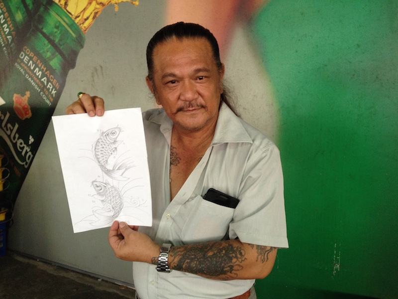One of Sabah's pioneer tattooist, Lee Choon Ping said the scene has changed and developed by leaps and bounds. During his time, tattoos were still taboo and those who had them liked auspicious images like the koi fish.