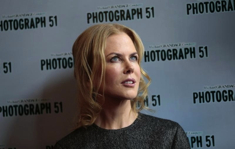 Nicole Kidman is one of the stars of David E. Kelley's latest show, 'Big Little Lies', set to premiere next year on HBO. — Reuters pic