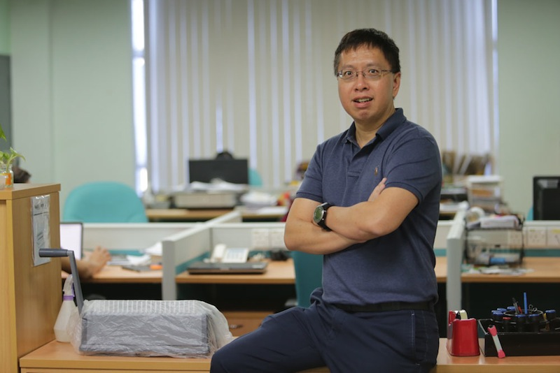 Vincent Choy believes all businesses -- no matter their size -- will benefit from Cloud technology. — Picture by Choo Choy May