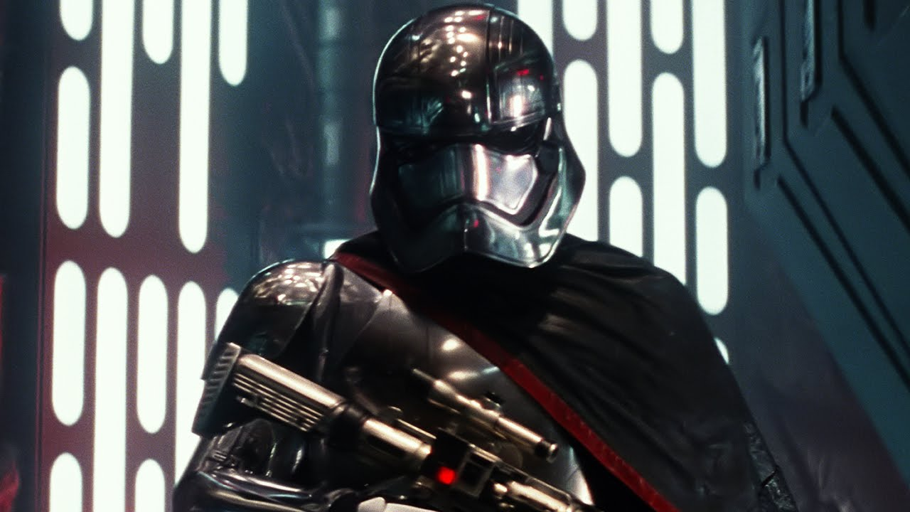 Not much is known about Captain Phasma, a unique Stormtrooper commander in chrome armour and a flowing cape.