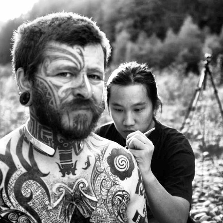 Sabah-born Carlos Benny Majakil is bringing his passion for tattoos back to his hometown for the Borneo state's first tattoo convention. — Picture courtesy of Max Junior Tinun