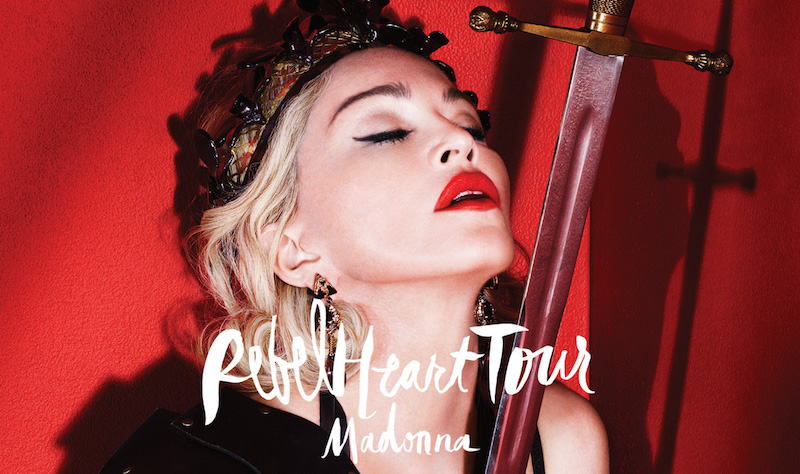 This is Madonna's 10th world tour, but her first concert in Bangkok.