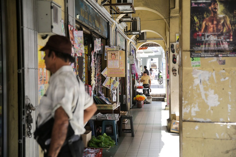 Public spaces including sidewalks like this in downtown Kuala Lumpur could be turned into a better space for the local community. — Picture by Choo Choy May