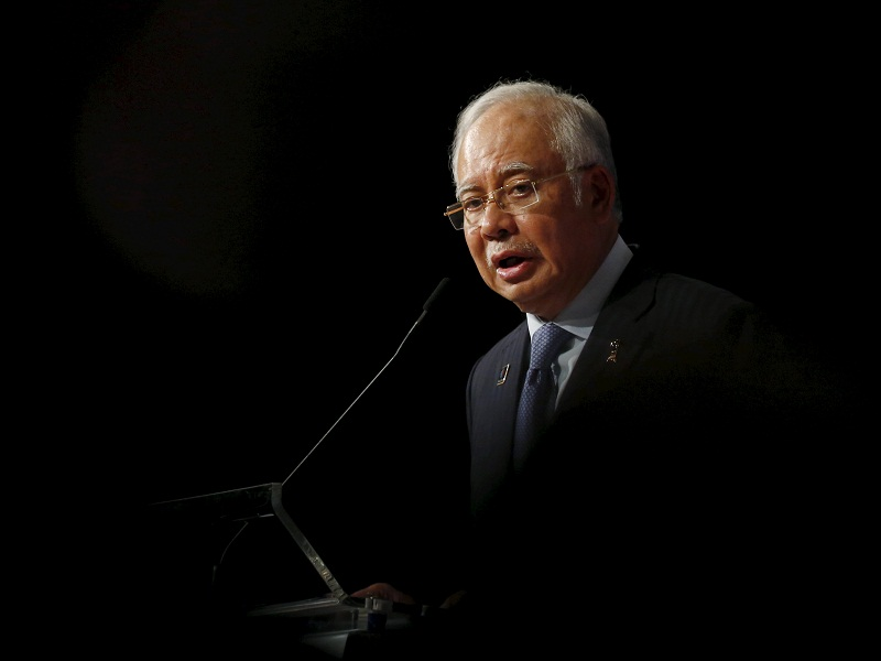 The latest plan contrasts with Najib's prior efforts to make bigger dents in the budget deficit. — Reuters pic