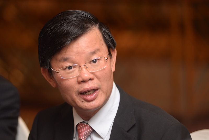Chow Kon Yeow says out the of RM22.661 million, RM5.43 million will go to overall emergency works on bridges, drainage systems and river banks to be undertaken by the Drainage and Irrigation Department (DID). —Picture by K.E.Ooi