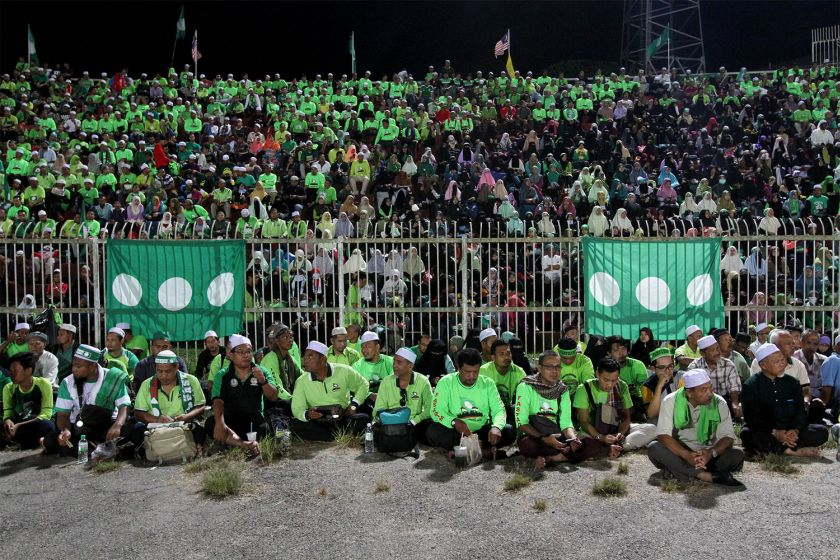 A report in the Straits Times says that PAS may be voted out in the next general elections due to poor economic conditions in the state. — Picture by Kamles Kumar