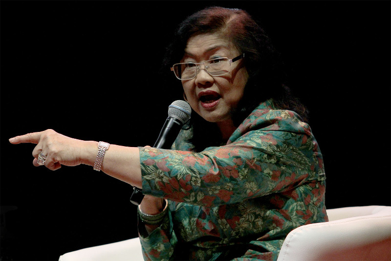 Rafidah has become increasingly critical of the administration of late, and has been posting a series of comments on Facebook to express her dissatisfaction. — Picture by Yusof Mat Isa