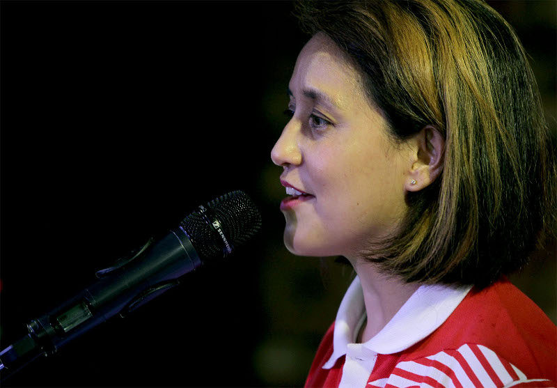 AirAsia Digital president Aireen Omar said admissions to the academy, which was previously only available to AirAsia's staff, is now open to the public and businesses. — Picture by Yusof Mat Isa