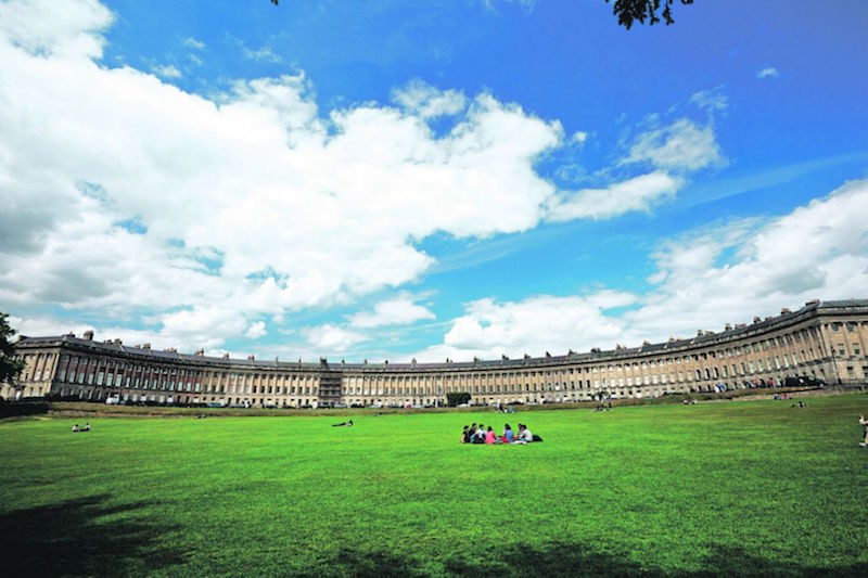 A group of major European spa towns was added to the highly prized World Heritage list including Bath in the United Kingdom — file pic