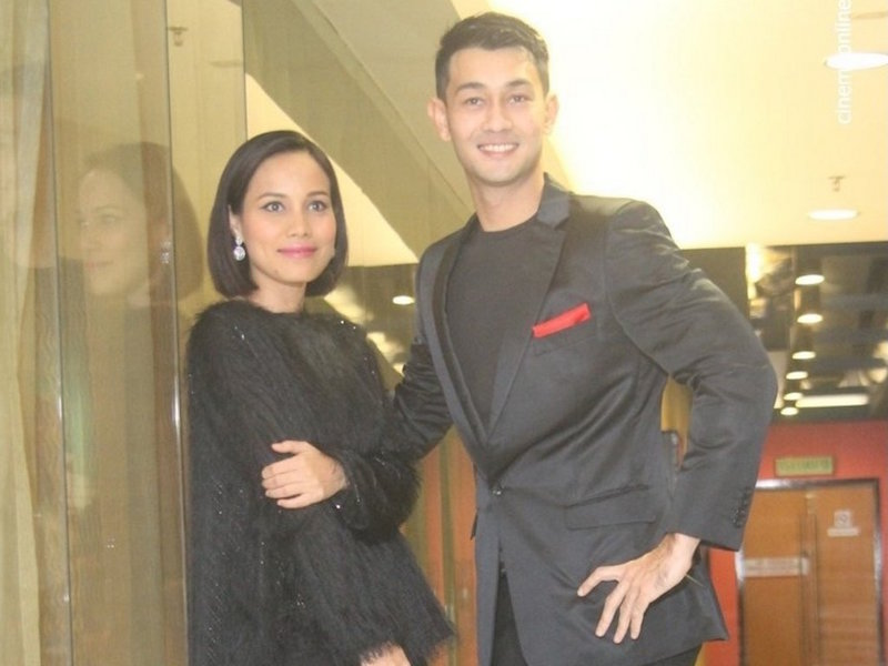 Farid Kamil and Nadiya Nisaa star together for the first time in 'Love, Supermoon'. — CinemaOnline pic
