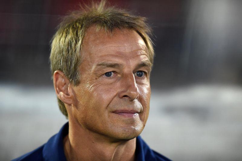 Jurgen Klinsmann dropped a bombshell on Tuesday when he quit as head coach of Hertha Berlin. — Reuters pic