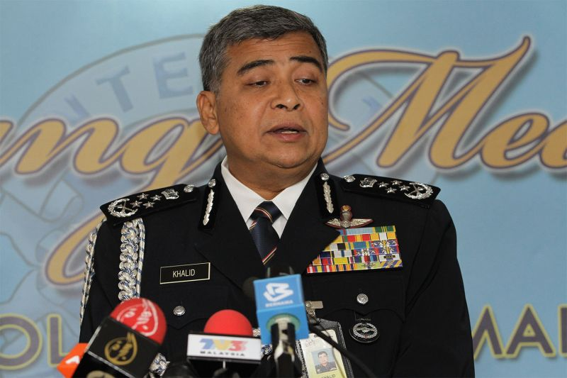 Khalid said the police are reviewing the security arrangements for the summit to be held at the Kuala Lumpur Convention Center. — File pic