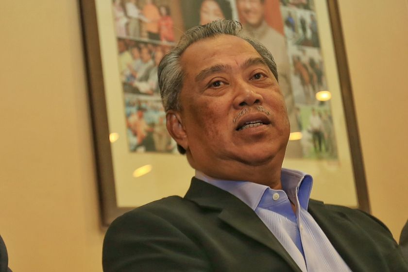 Umno deputy president Tan Sri Muhyiddin Yassin has been accused of having provided ammunition to the opposition by complaining about being sidelined. — File pic