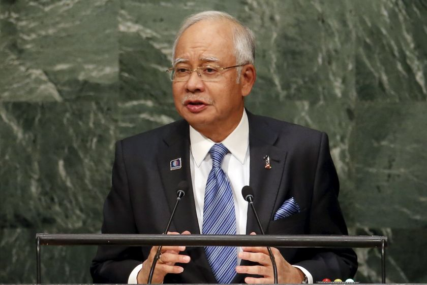 Prime Minister Datuk Seri Najib Razak has been implicated in corruption investigations into 1MDB after WSJ reported in July some US$700 million was funnelled through several entities linked to the state-owned firm into the prime minister's personal bank accounts. — Reuters pic