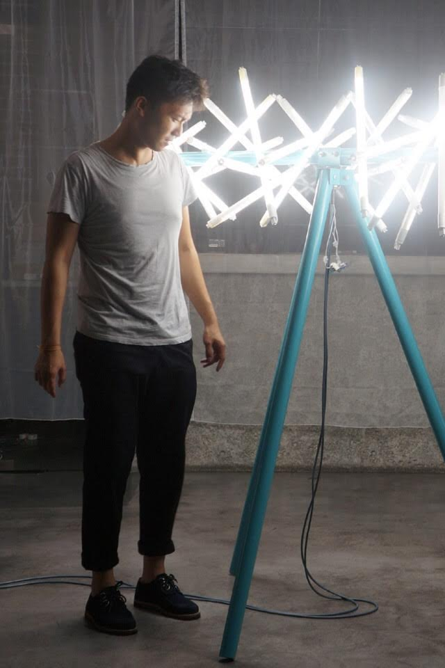 Jun Ong will create the massive The Star light installation as the highlight of Urban Xchange at Jalan Raja Uda. — Picture courtesy of Urban Xchange