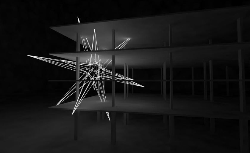 A visual of The Star art installation that will be installed on a building at Jalan Raja Uda, Butterworth by artist Jun Ong as part of Urban Xchange. — Picture courtesy of Urban Xchange