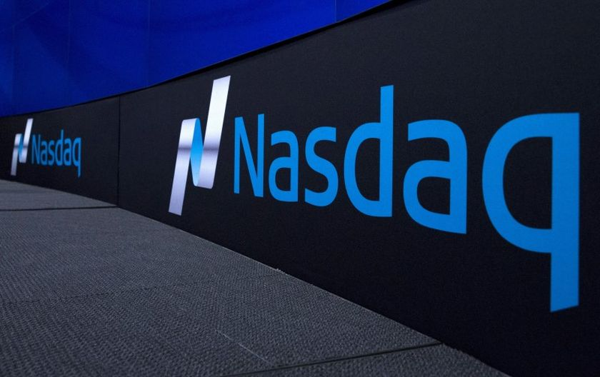 The Nasdaq logo is displayed at the Nasdaq Market site in New York, November 14, 2015. — Reuters pic