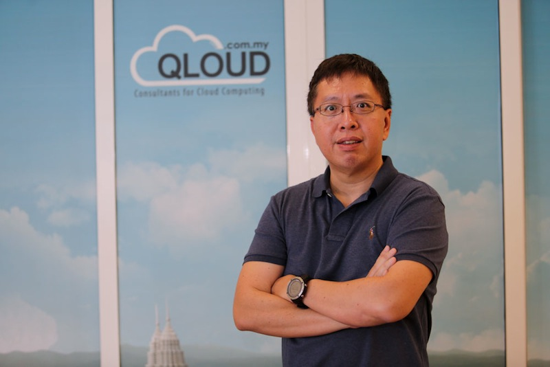 Vincent Choy says small companies can save loads of money with cloud technology. —Picture by Choo Choy May