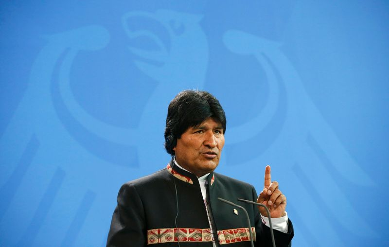 Bolivia's President Evo Morales said it had been a mistake for his government not to have a 'plan B'. — Reuters pic