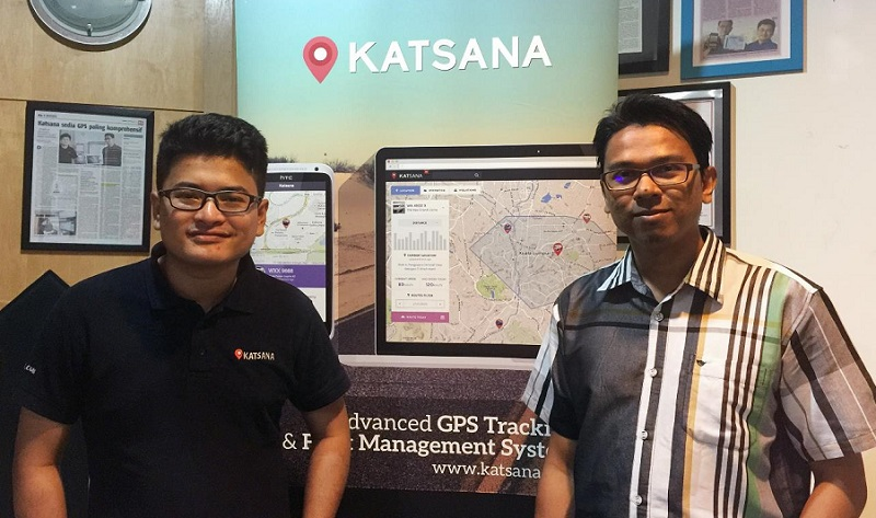Founder and MD Syed Ahmad Fuqaha Sd. Agil (left) with co-founder and COO Mohd Irwan Ibrahim. — Digital News Asia pic