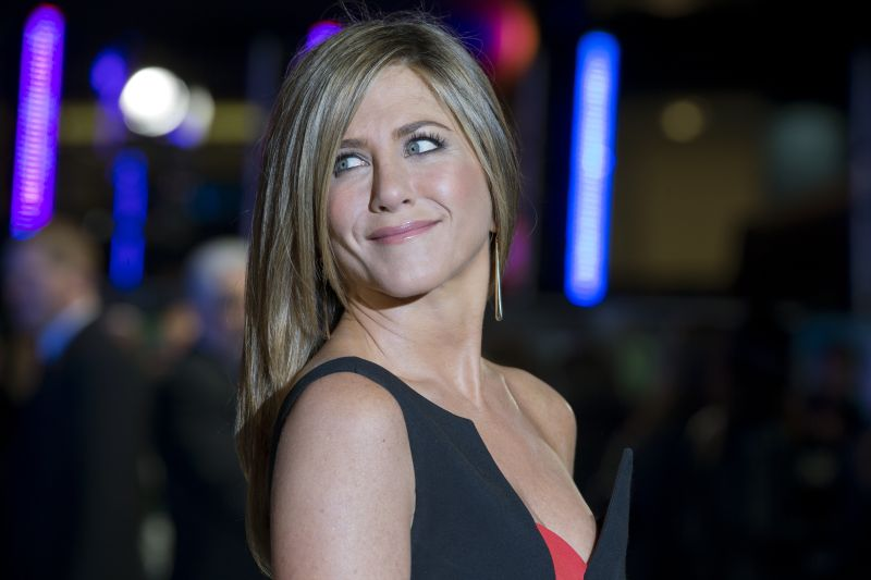 In the 10-episode programme, Jennifer Aniston plays a well-known television journalist on a fictional morning programme whose male co-presenter, played by Steve Carell, has been fired amid sexual harassment accusations. — AFP pic
