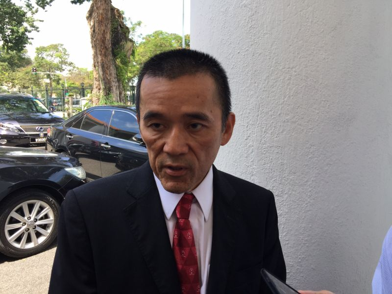 DAP assemblyman Teh Yee Cheu says he will try to submit the motion again next sitting. ― Picture by Opalyn Mok