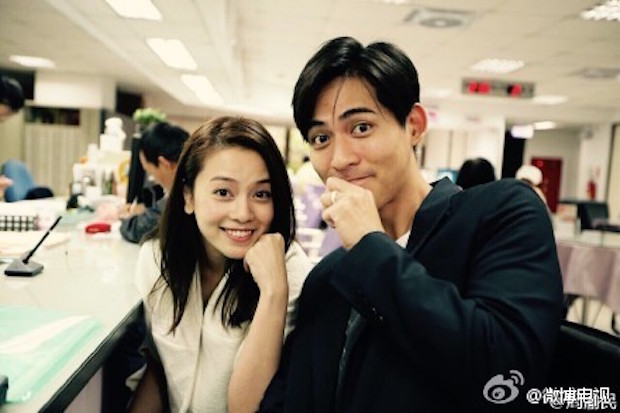 Chou shared this picture of the couple wearing their wedding rings on his official Weibo page. — Picture via Weibo.com/ChouVic
