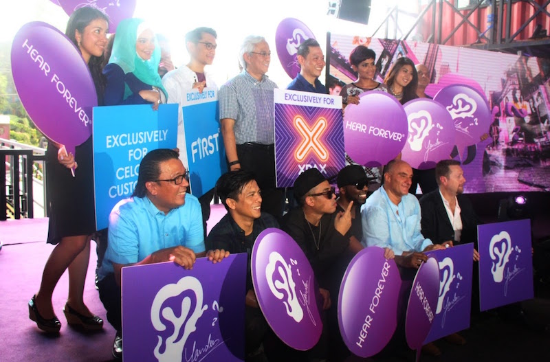 In Malaysia, Yonder Music is exclusively for all Celcom users. — TheHive.Asia pic