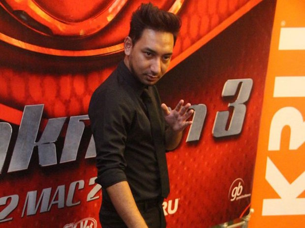 Zizan said that he and fellow comedian Johan are just too busy with individual projects at the moment. — CinemaOnline pic