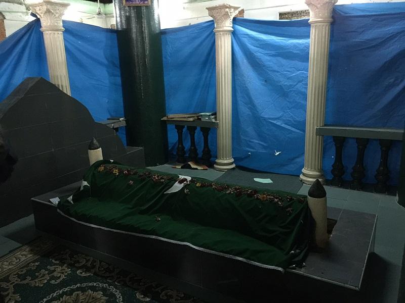 The Dato Koyah tomb at Transfer Road will undergo restoration works starting today.