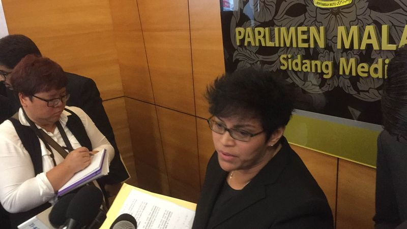 In a parliamentary reply on November 23, Azalina denied that the Prime Minister's Department had purchased any spyware from Hacking Team. — Picture by Kamles Kumar