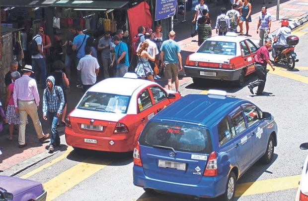 Raime said that although Uber had only been in Kota KInabalu for a month, local cabbies were already seeing a decline in business. — File pic
